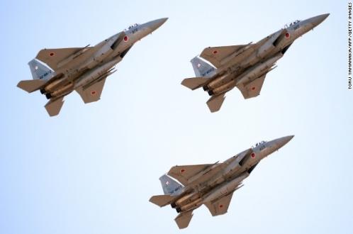 China: Japanese military jets using 'dangerous' tactics