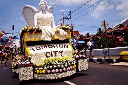 Tomohon Internasional Flower Festival Juga Raih MURI