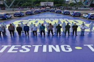 Tim Covid Hunter Makassar Resmi Diluncurkan