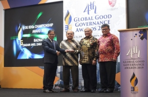 Baznas Raih Good Governance Award