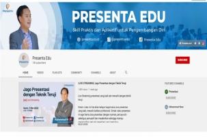Pelatihan Daring Presentaedu Jawab Kebutuhan Presentasi Profesional