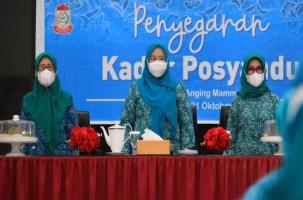 Tim PKK Makassar Gelar Peyegaran Kader Posyandu